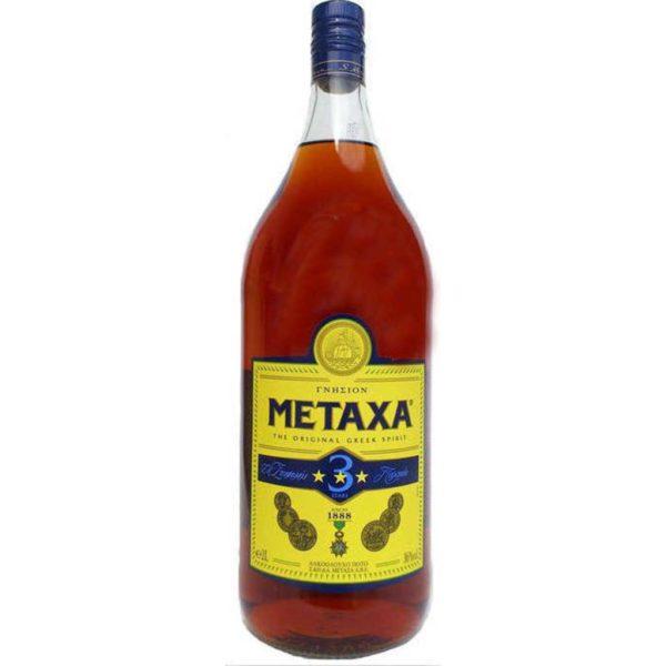 METAXA 3 STARS 2 LT