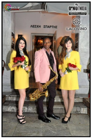 LACOVINO WINERY AND SAXO - JAZZ NIGHT