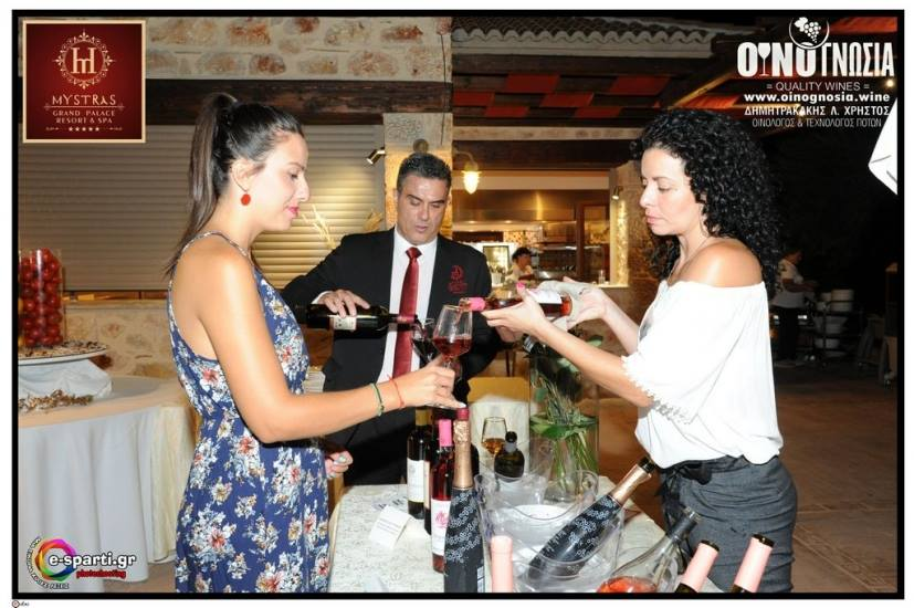 DRINK PINK & BLIND TASTING - MYSTRAS GRAND PALACE - 11 AUGUST 2018